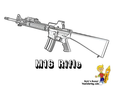 toy gun coloring page gusto coloring pages to print army army free