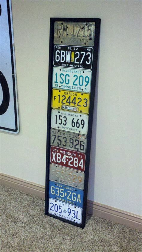 20 best license plate projects images on pinterest