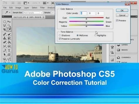 tutorial photoshop adobe cs5 adobe photoshop cs5 color correction tutorial how to use