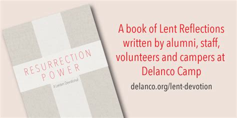 reflections through romans a lenten devotional books resurrection power a lenten devotional delanco c