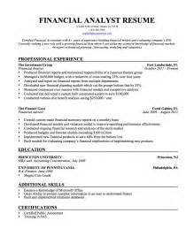 financial analyst resume samples templates amp tips