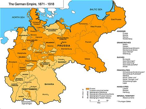 prussia and the rise of the german empire books ghdi list of maps