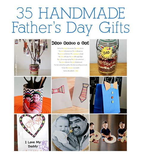 Handmade Fathers Day Presents - tot school tuesday 35 handmade s day gifts see