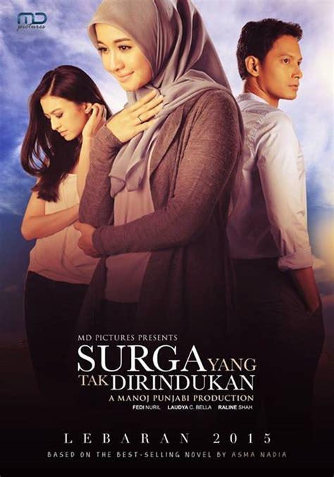 film islami indonesia yang bagus poster terbaru film surga yang tak dirindukan hello hijabers
