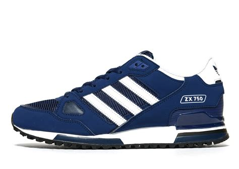 lyst adidas originals zx 750 in blue for
