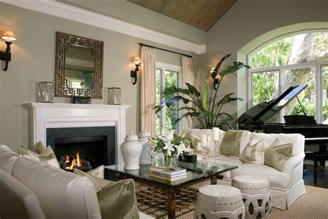 Green Living Room Piano Living Room Farrow And String
