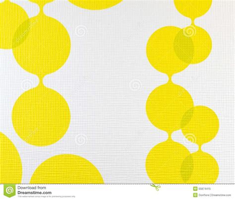 yellow pattern on white yellow cloth texture background vector illustration