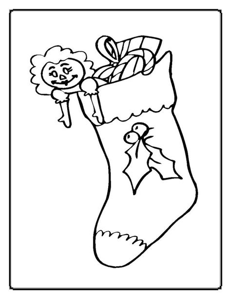 elf stocking coloring pages elf stocking coloring page