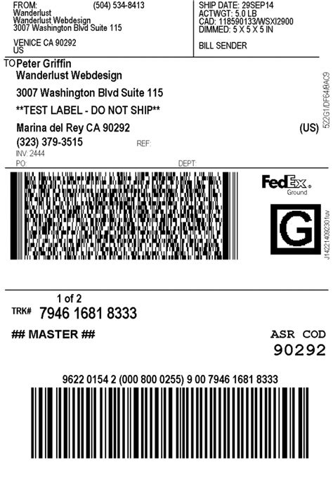Stiker Shipping print fedex shipping labels woocommerce plugin