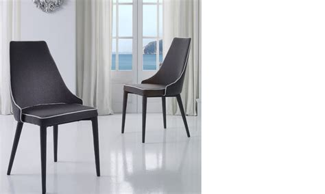 Chaise Blanche Design Salle A Manger by Chaise Salle A Manger Grise Et Blanche Design Roan Lot De 2