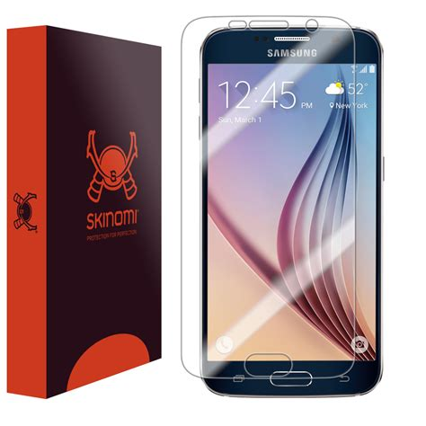 s6 samsung screen skinomi techskin samsung galaxy s6 screen protector