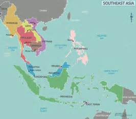 Map Se Asia map of southeast asia region maps of asia regional