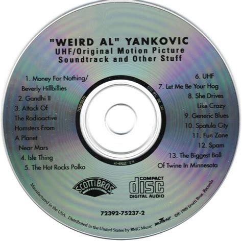 weird al yankovic uhf soundtrack xvr27 s quot weird al quot yankovic homepage scans uhf soundtrack