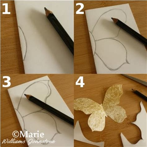 How To Make 3d Butterfly Out Of Paper - 17 best photos of 3d paper butterfly template 3d