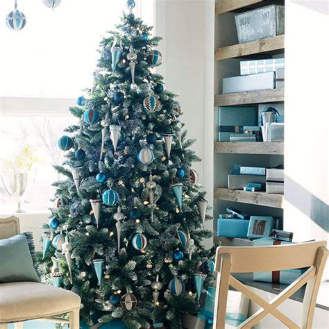 blue and silver tree ideas tree inspiration