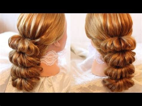 hairstyles with elastic bands hairstyle by using rubber bands beauty 5 youtube