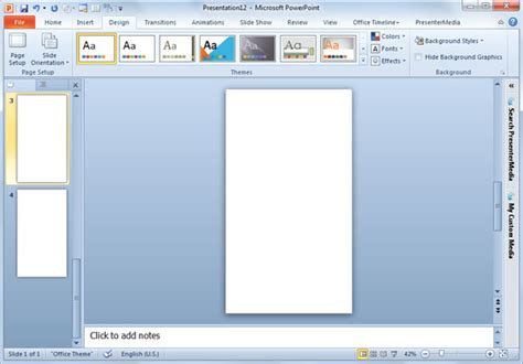 powerpoint layout ratio aspect ratio in powerpoint