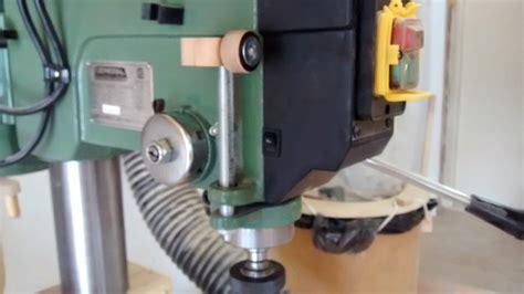 drillpress depth stop  geekwoodworker  lumberjocks