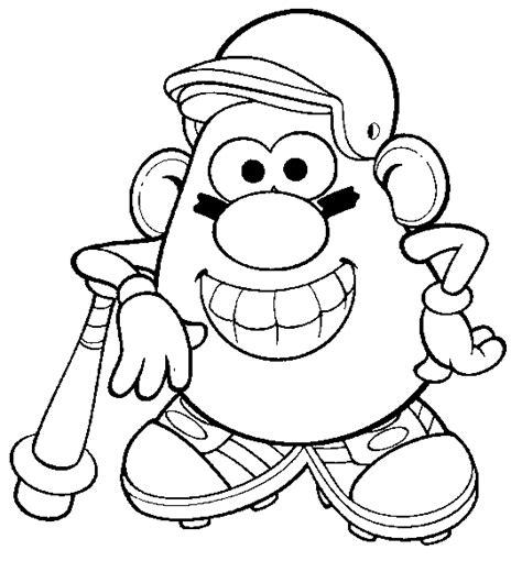 mr potato head coloring pages coloringpagesabc com