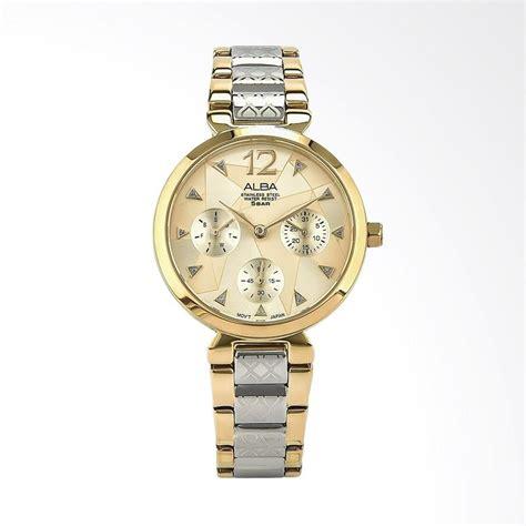 Alba Ary96g Jam Tangan Wanita Gold jual alba ap6536x1 jam tangan wanita gold silver