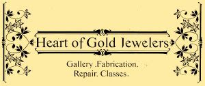 heart  gold jewelers