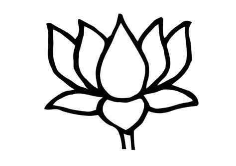 lotus flower coloring pages flower coloring page