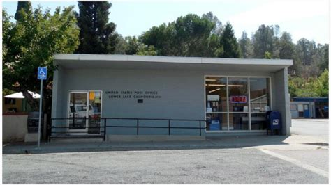 Lake Post Office by Post Office Up In California Wildfire