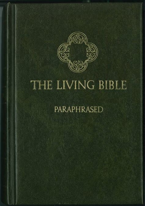The Living Bible living bible by kenneth n bible catalog
