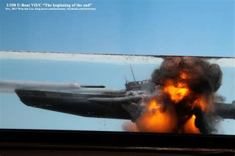 rc boats exploding quot the beginning of the end quot u boat type vii c scale