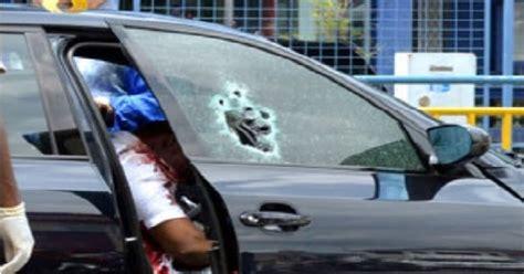 Lu Tembak Kereta waspada peniaga dan isteri ditembak mati dalam kereta di