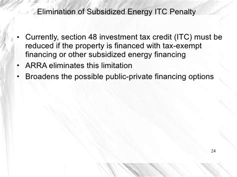 section 48 investment tax credit cert ambient financing generation projects