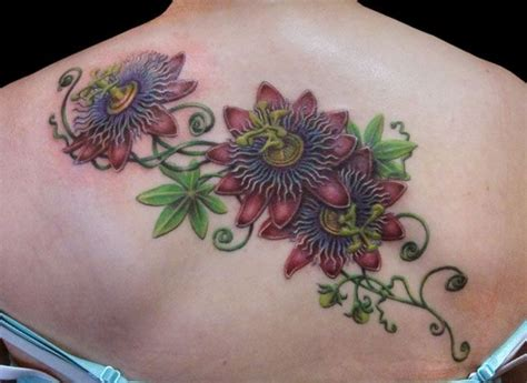 passion flower tattoo designs flower search ideas