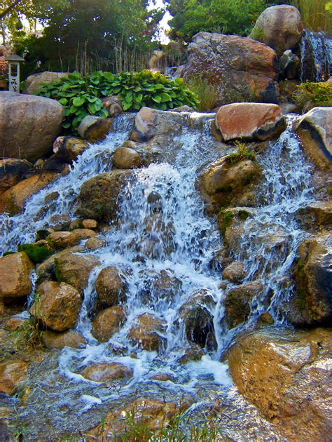 How To Make A Backyard Waterfall by File Waterfall At Japanese Water Garden Jpg Wikimedia