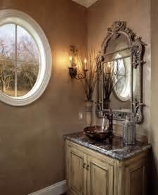 tuscan bathroom mirrors tuscan powder room for the home pinterest powder love the and bath
