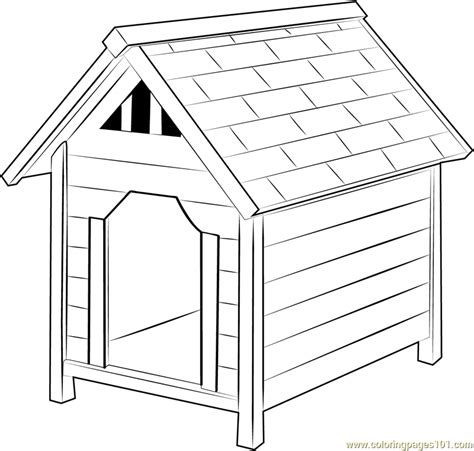 dog house coloring pages dog house coloring page coloring pages ideas reviews