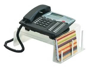 desk phone stand for easy organization