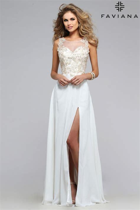 prom dresses faviana s7503 prom dress prom gown s7503