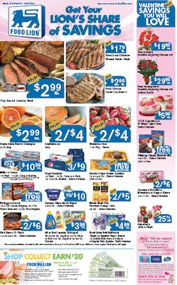 food lion coupons deals   week   living rich  coupons