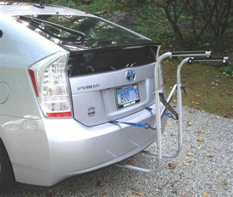 Bike Rack For Prius 2010 by Toyota Prius Bike Rack With Gol