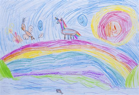 The Psychology Of Children S Artwork Children Drawing Pictures For Painting