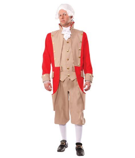 colonial coat mens costume patriotic costumes