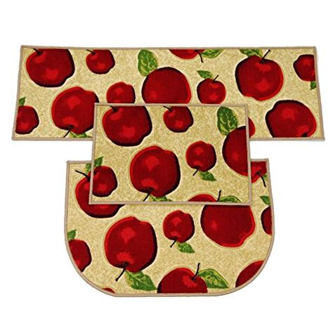 Apple Kitchen Rug Sets Kitchen Rugs And Mats Kitchen Accessories
