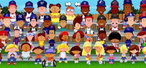 backyard baseball video game backyard baseball 2003 pc nerd bacon reviews