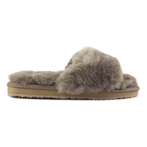 mou slippers sheepskin slide slippers mou fall winter