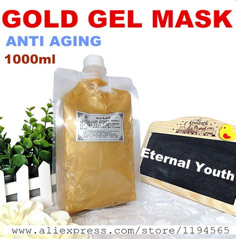 Whitening Serum Anti Aging Gel 1kg 24k gold mask gel whitening moisturizing anti wrinkle anti aging hospital
