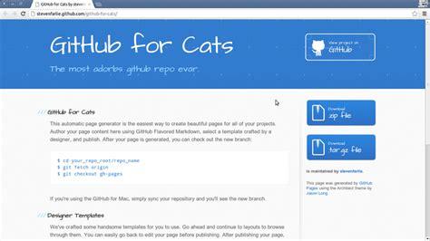 github pages templates github pages templates gallery free templates ideas