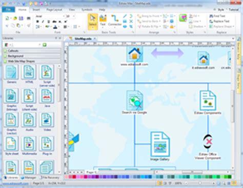 web map maker web site map web diagram solutions