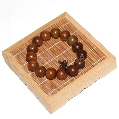 square bamboo jewelry holder show rack bracelet display