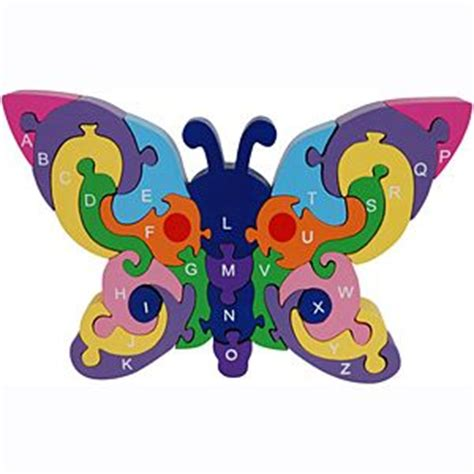 Puzzle Alphabet Butterfly alphabet butterflies and puzzles on