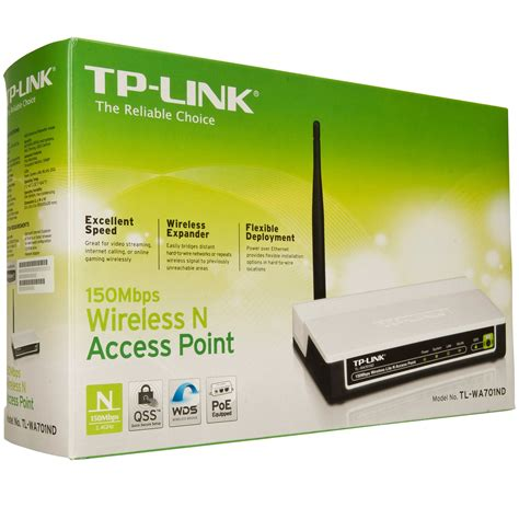 Tp Link Tl Wa701nd Wireless N Access Point 150mbps musik macken tp link wireless n 150mbps access point